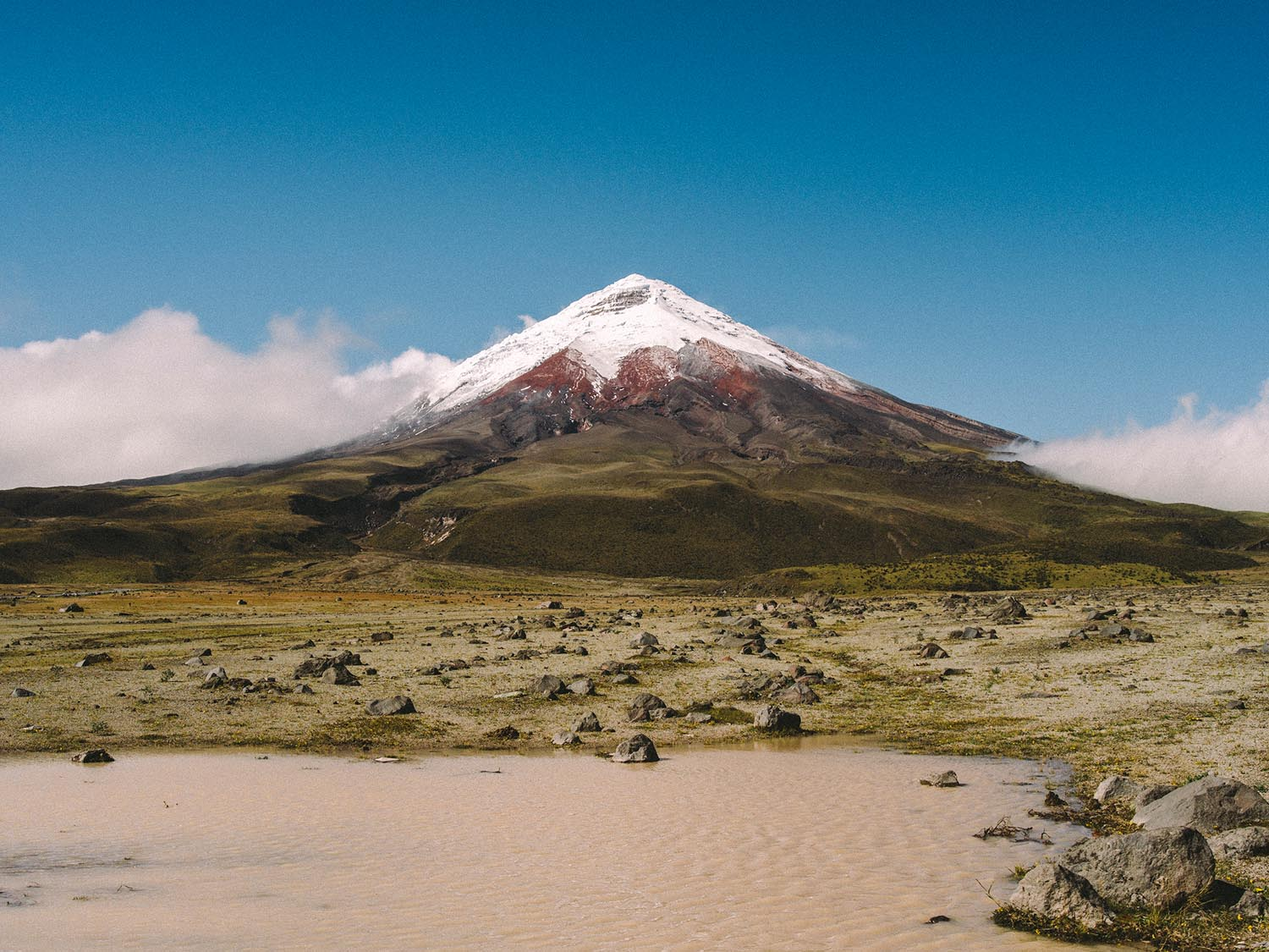 Cotopaxi in all its glory.