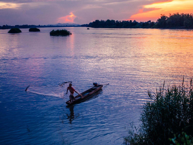 Pentax 645z medium format in Laos.