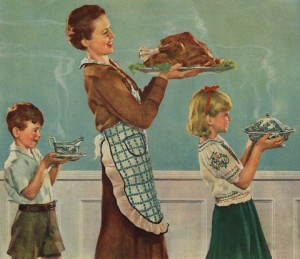 Thanksgiving-Dinner-by-Norman-Rockwell-300x259.jpg