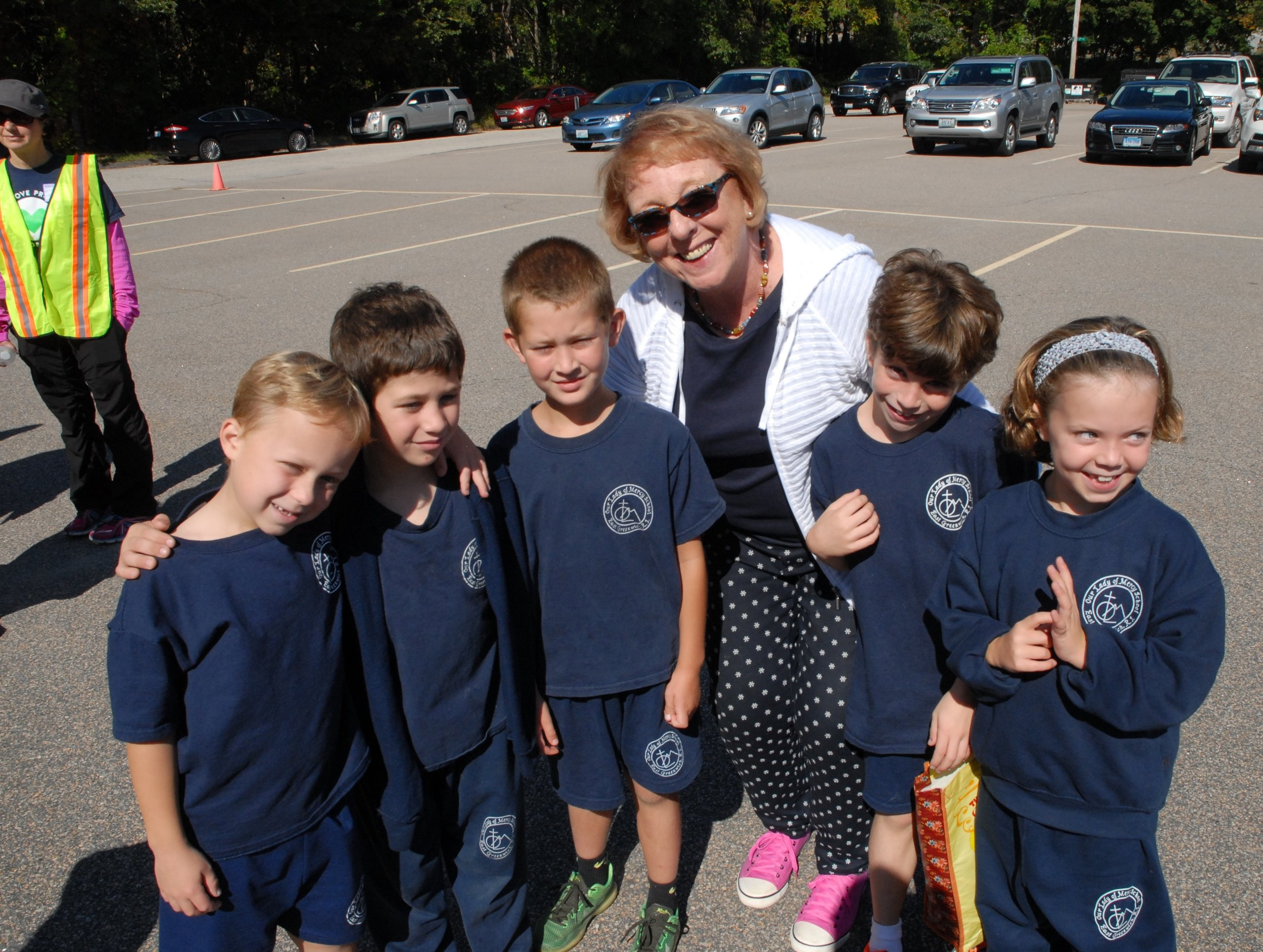 First Day of School at OLM 2016