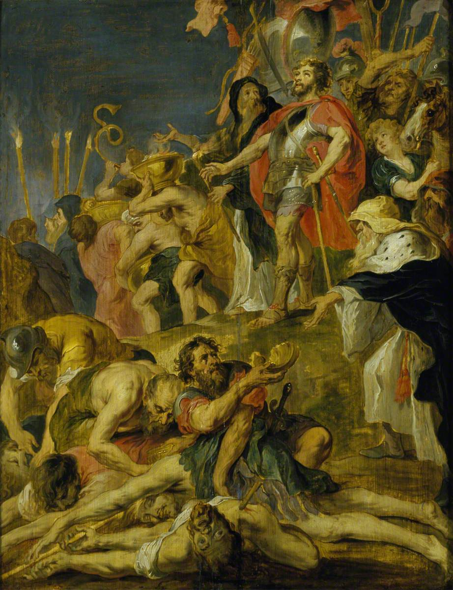 Judas Maccabaeus Praying for the Dead  by Peter Paul Rubens (1577–1640