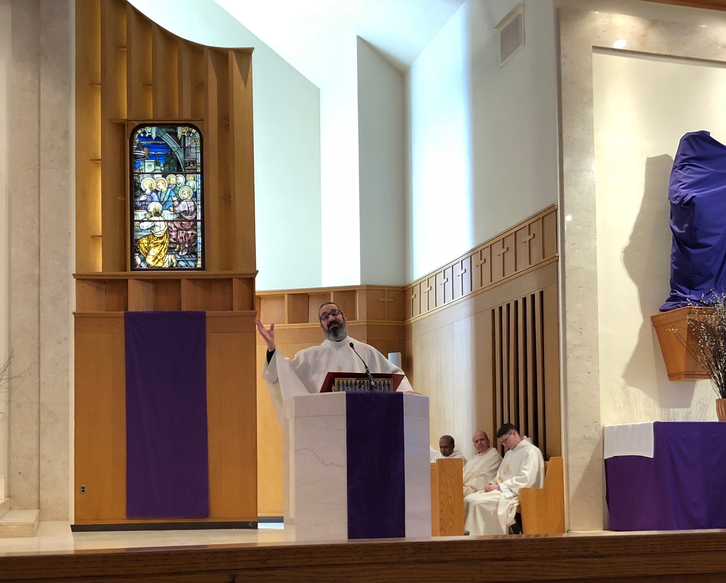 Fr. James Ruggeri preaches on the life and virtue of St. Joseph!