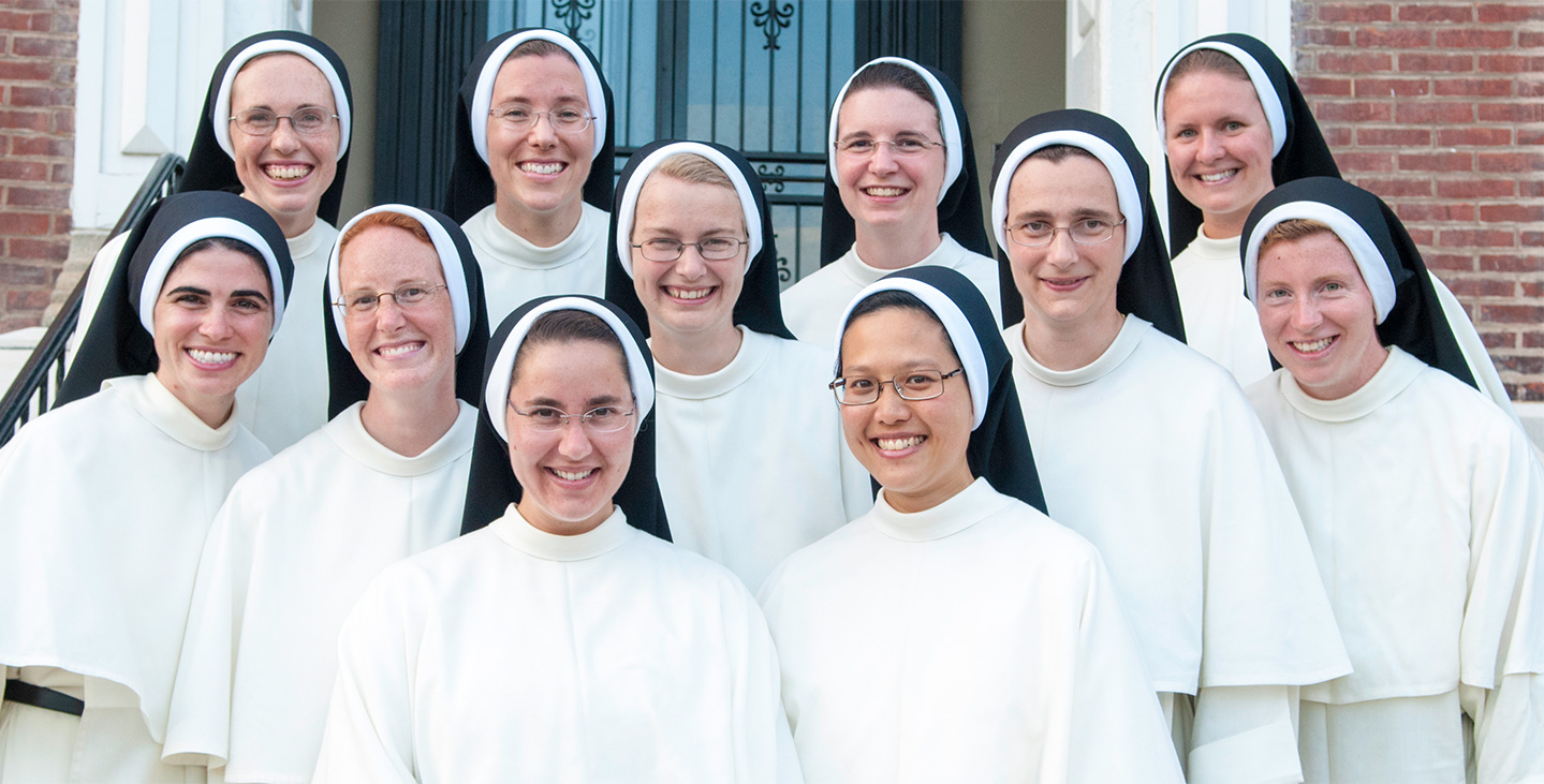 The Sisters of St. Cecilia in Nashville, TN.