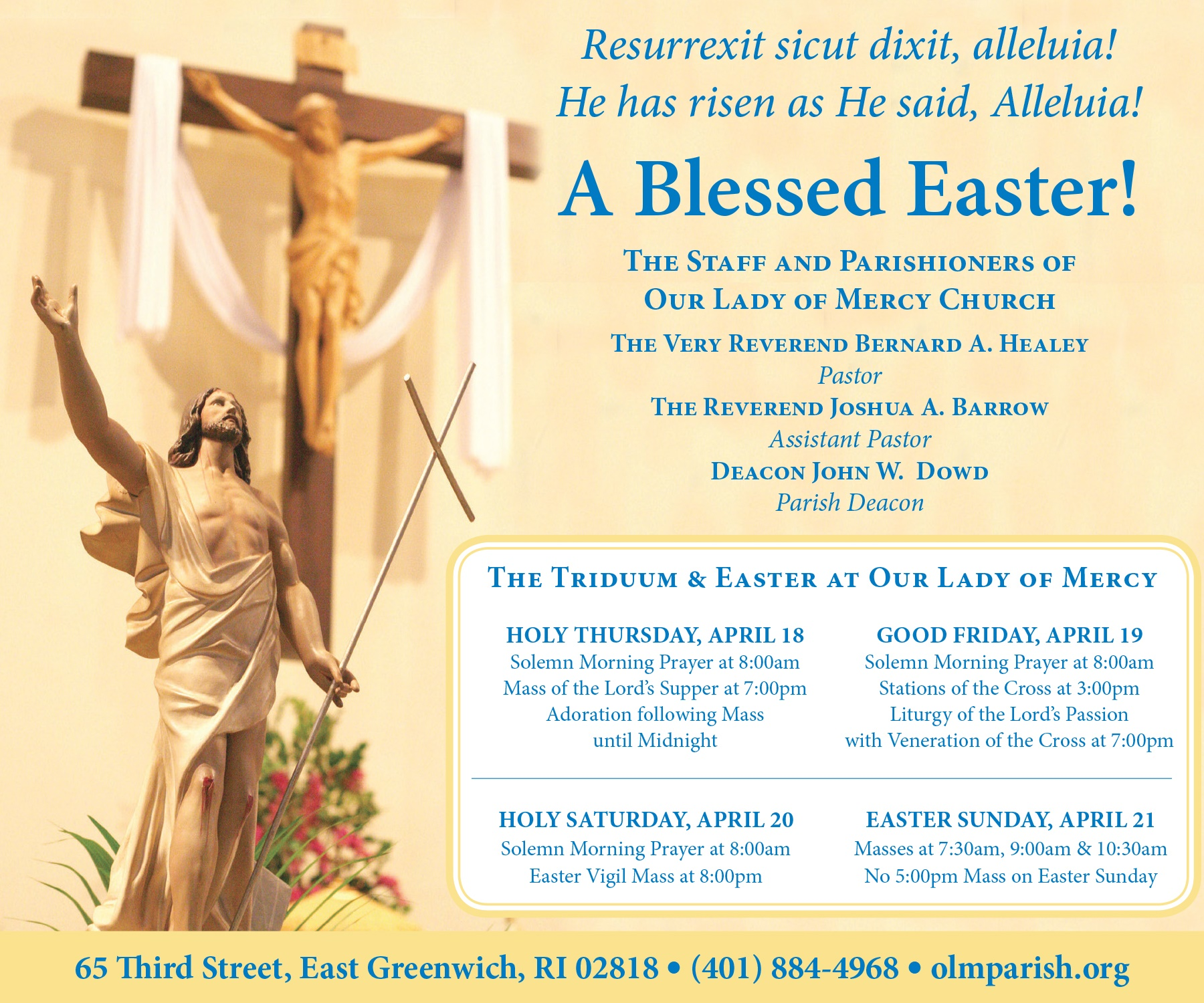 Our Lady of Mercy Triduum  Easter for 041119.jpg