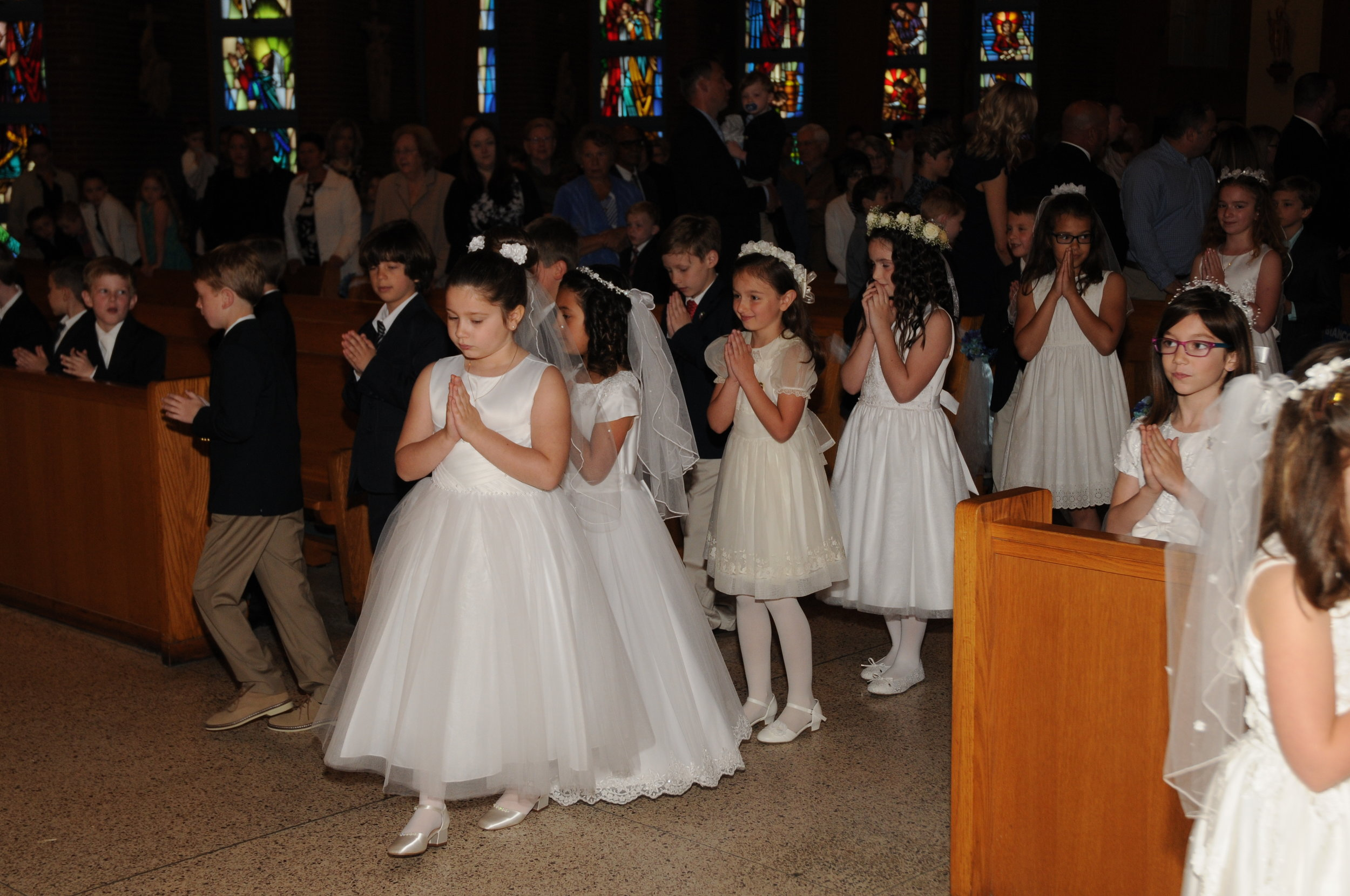 ce26536da Sixty-five of our children receive First Holy Communion on Saturday. These  children have been preparing all year for this special occasion.