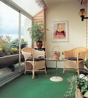 Copy of Przykładowe zagospodarowanie wnętrza zabudowanego balkonu.