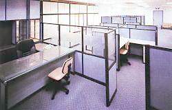 Zabudowa biurowa – ścianki działowe