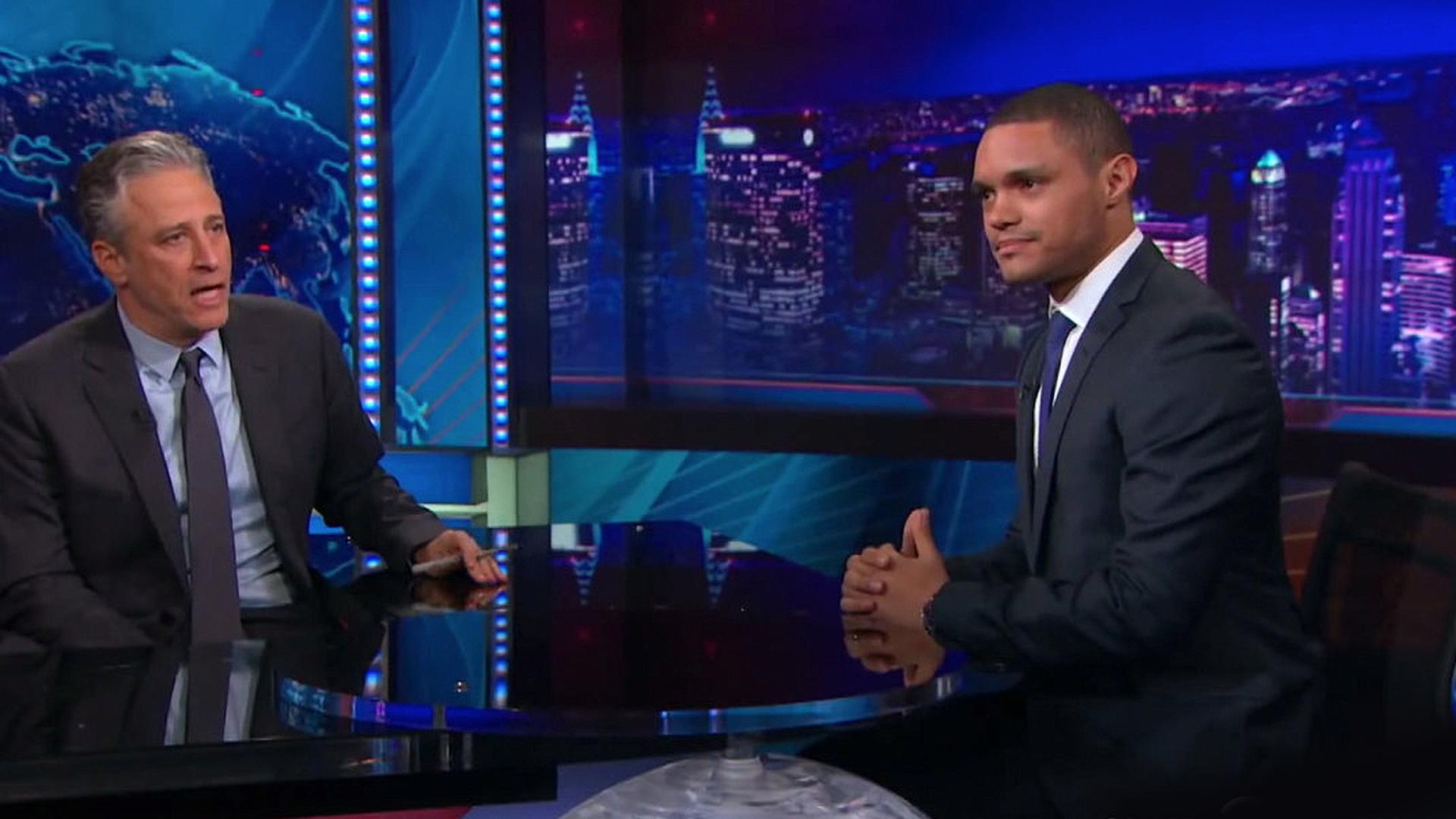 Trevor Noah vs.Jon Stewart - A Diversity Check on 'The Daily Show,' in Data