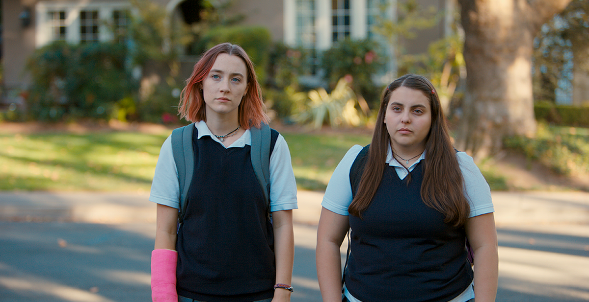 Lady Bird (left) and Julie (right)