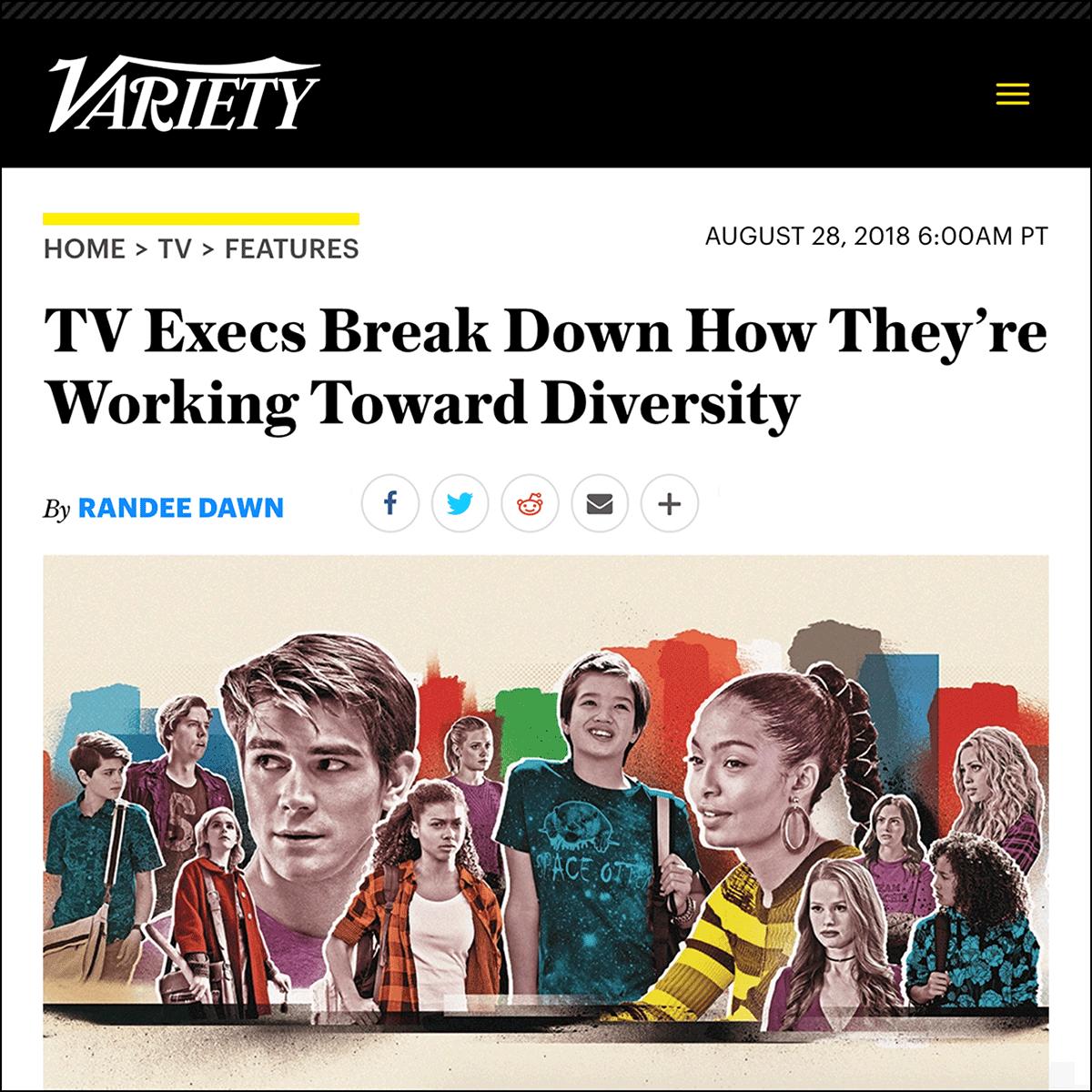 Variety    Written by Randee Dawn, August 2018