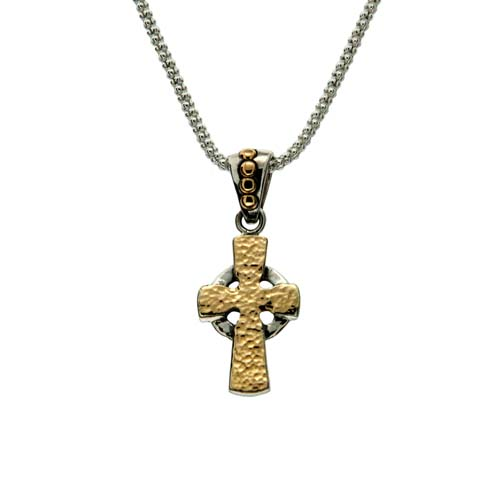 Hammered Celtic Cross