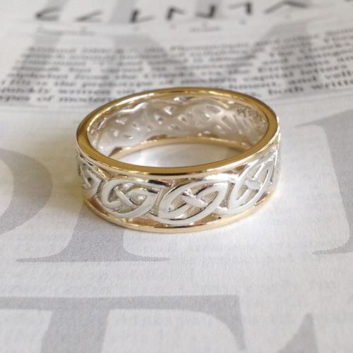 Celtic Window to the Soul Ring