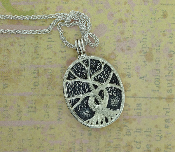 Sterling Silver Celtic Tree of Life Pendant