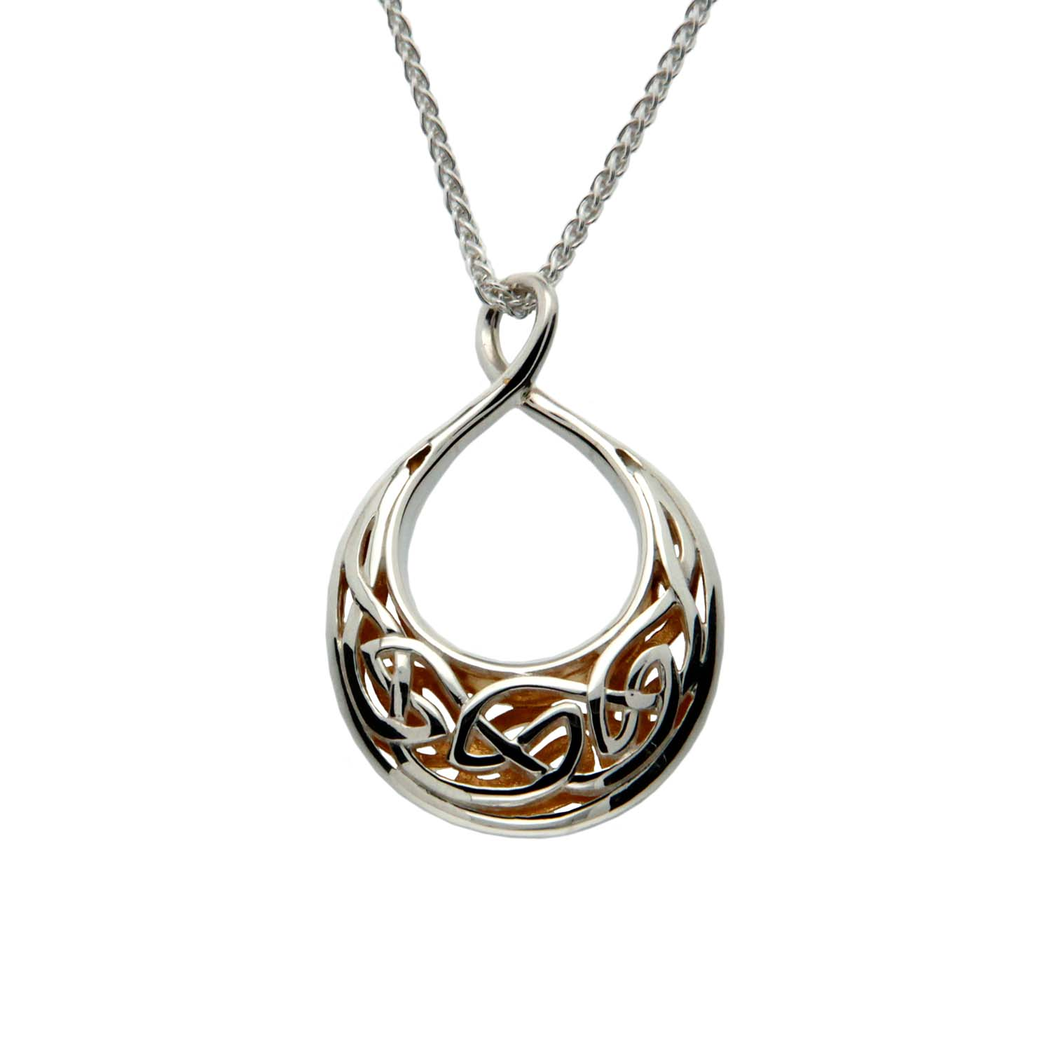 Celtic Window to the Soul Pendant by Keith Jack