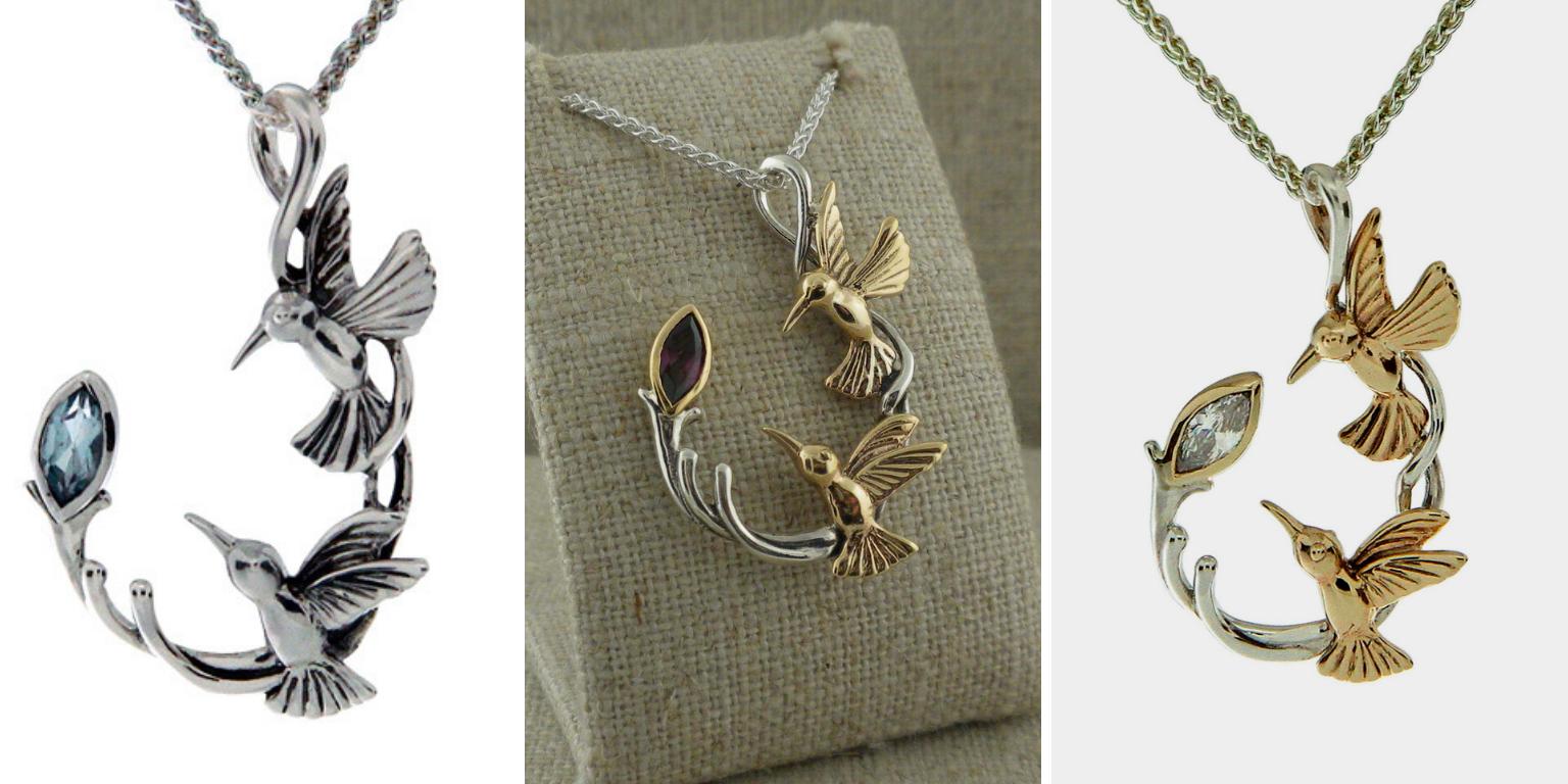 Keith Jack's Double Hummingbird Pendants