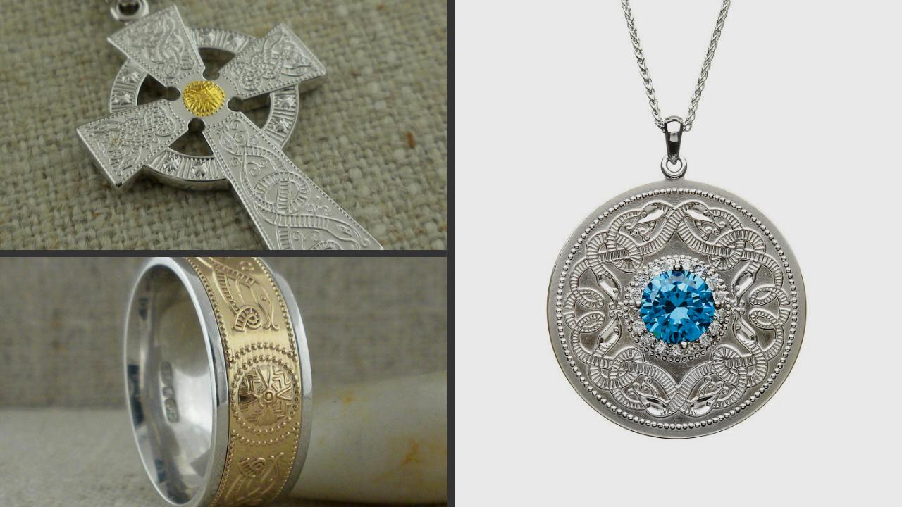 Celtic Warrior Shield Jewelry by Boru