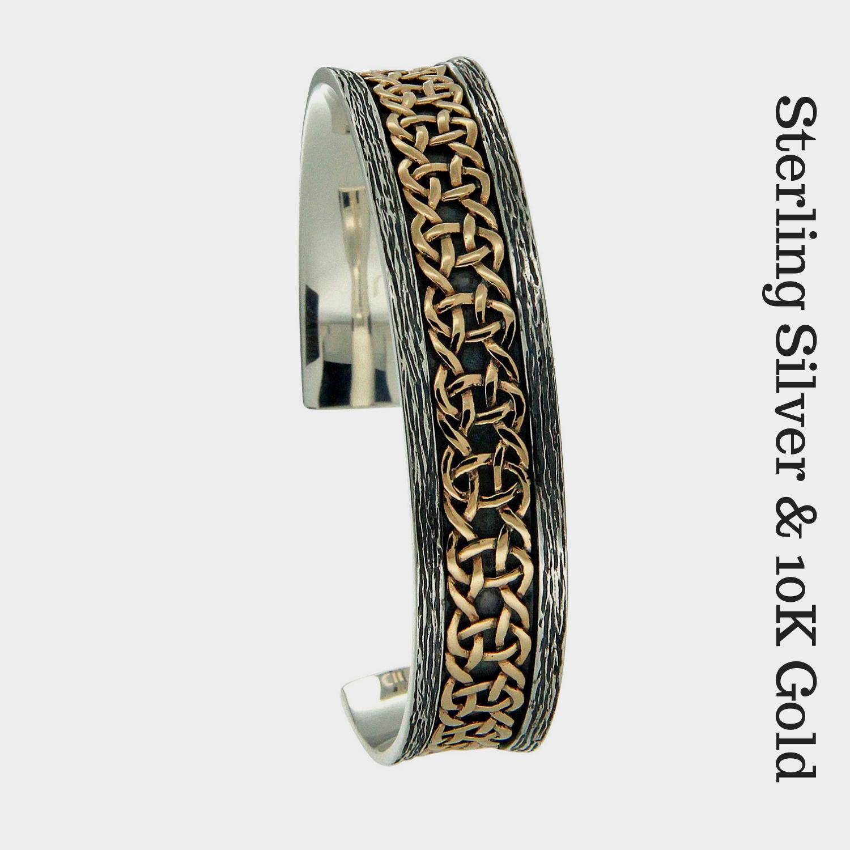 Sterling & 10K Scavaig Bracelet