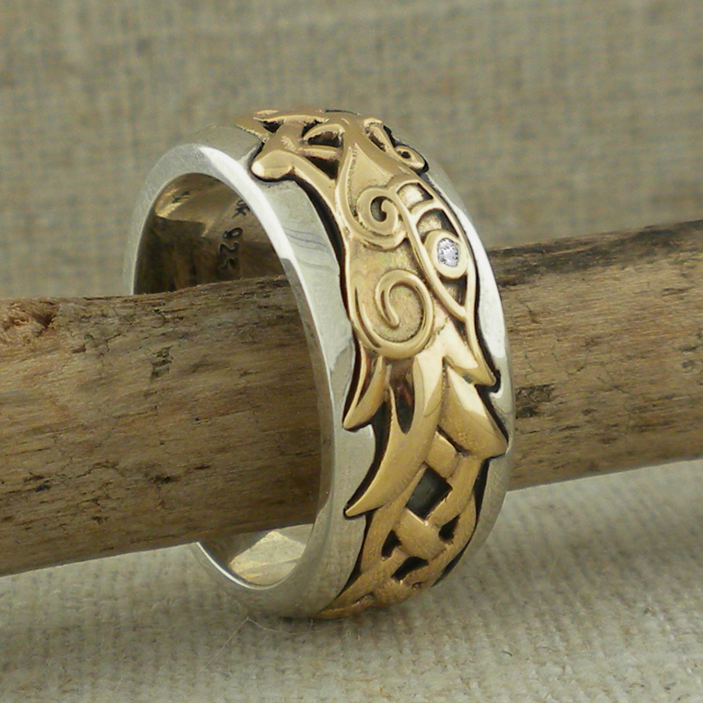 Dragon Celtic Knot Ring By Keith Jack Basil Ltd Irish Celtic