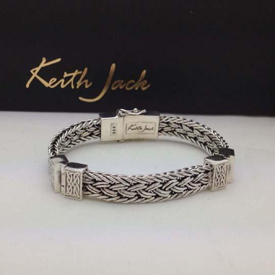 Celtic Knot Eternity Hinged Dragon Bracelet