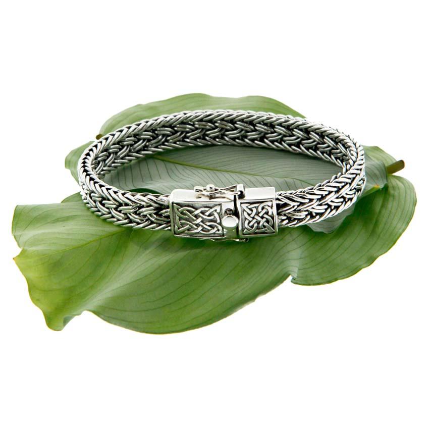 Celtic Knot Eternity Dragon Bracelet