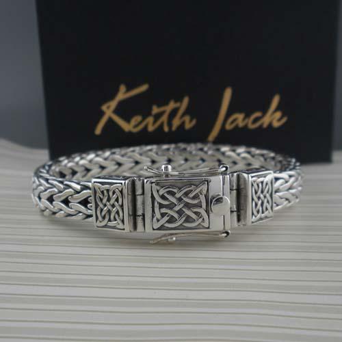 Celtic Knot Dragon Weave Bracelet