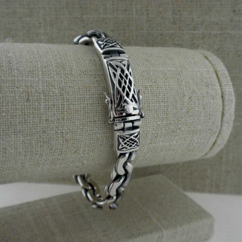 Celtic Dragon Weave Bracelet