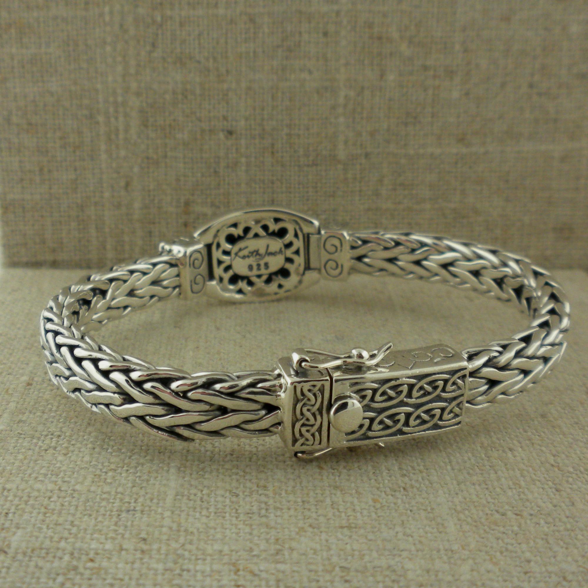 Keith Jack Scottish Rampant Hinged Bracelet