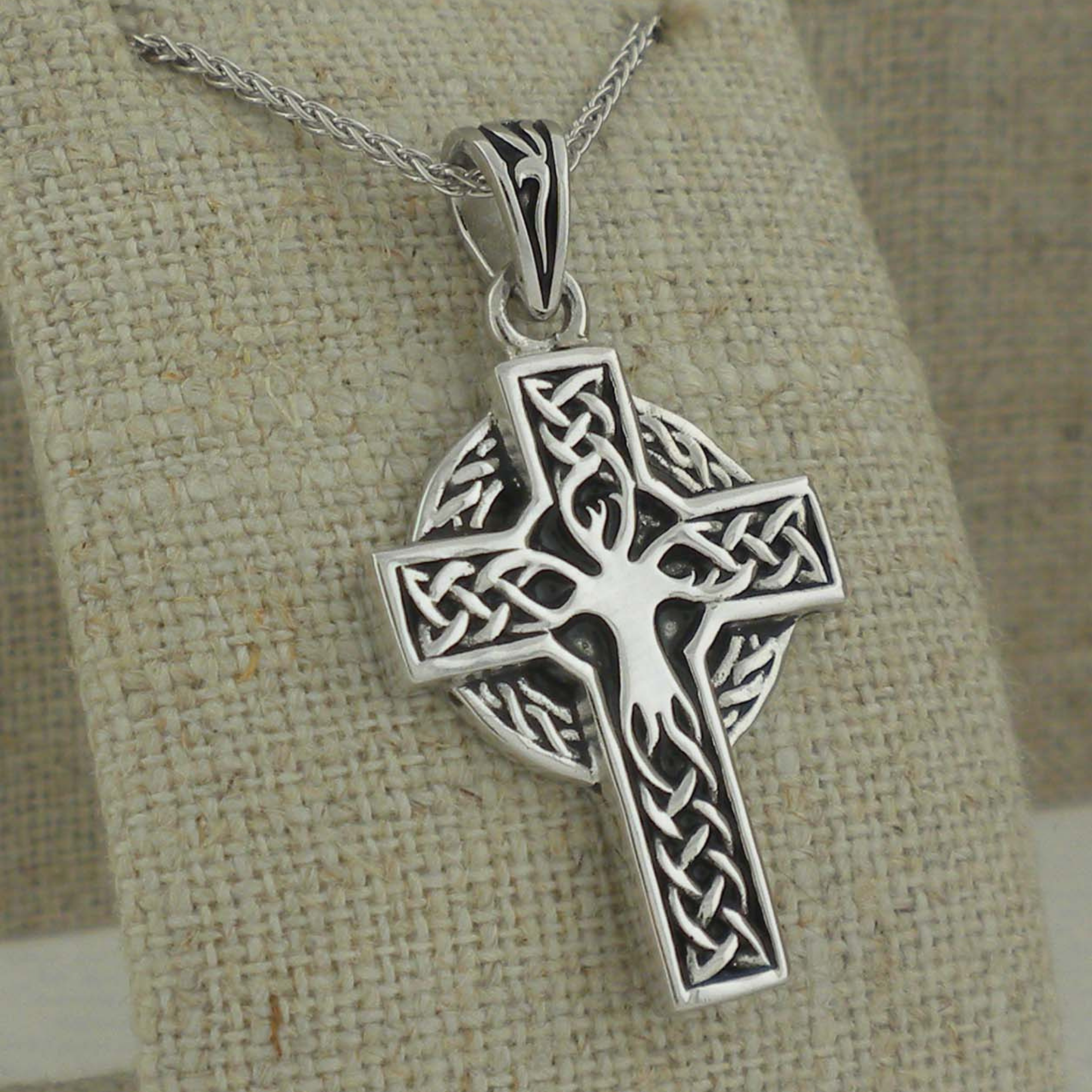 Celtic Tree of Life Cross by Shanore