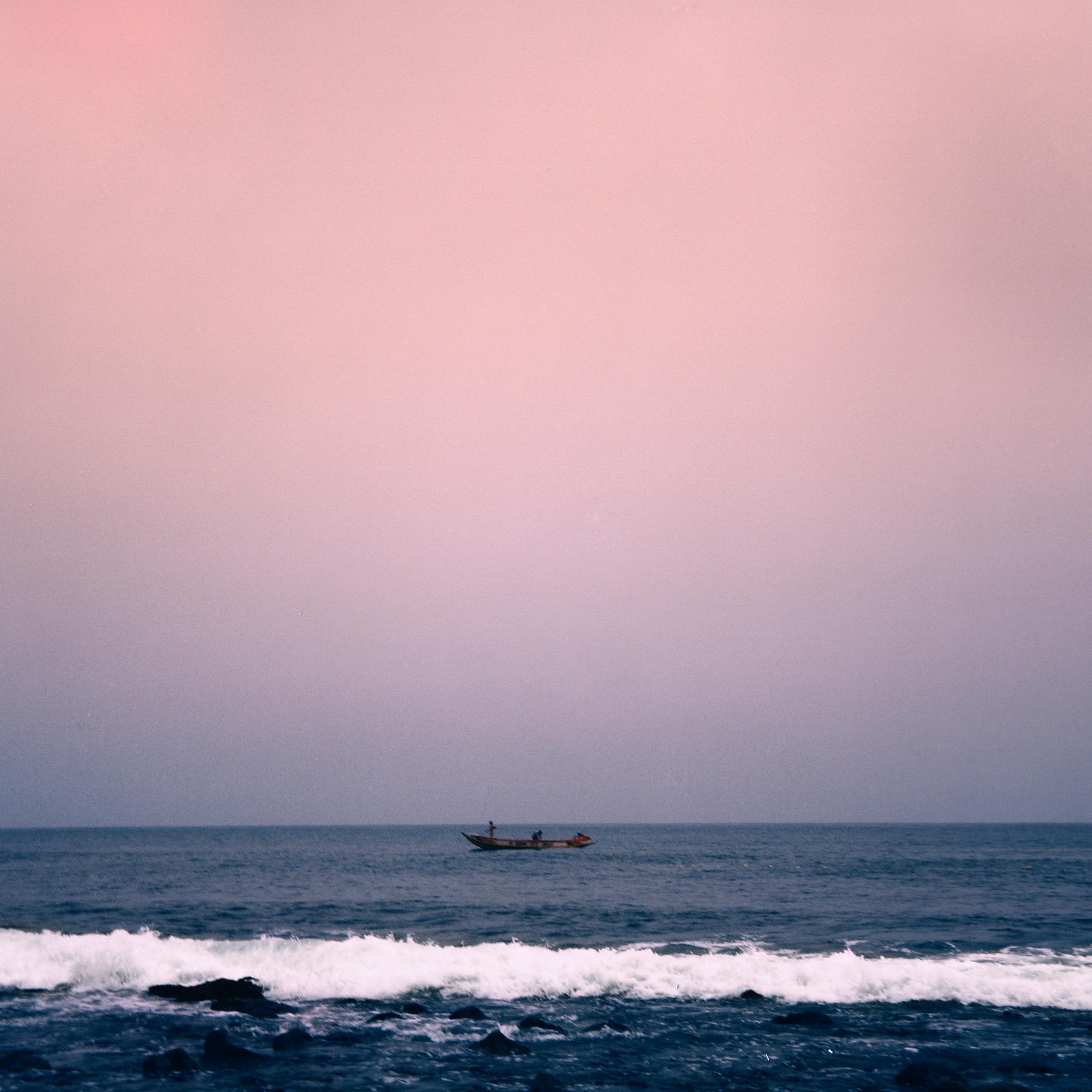 """""""Pink Sky Fishing""""  Dakar, Senegal  2016"""
