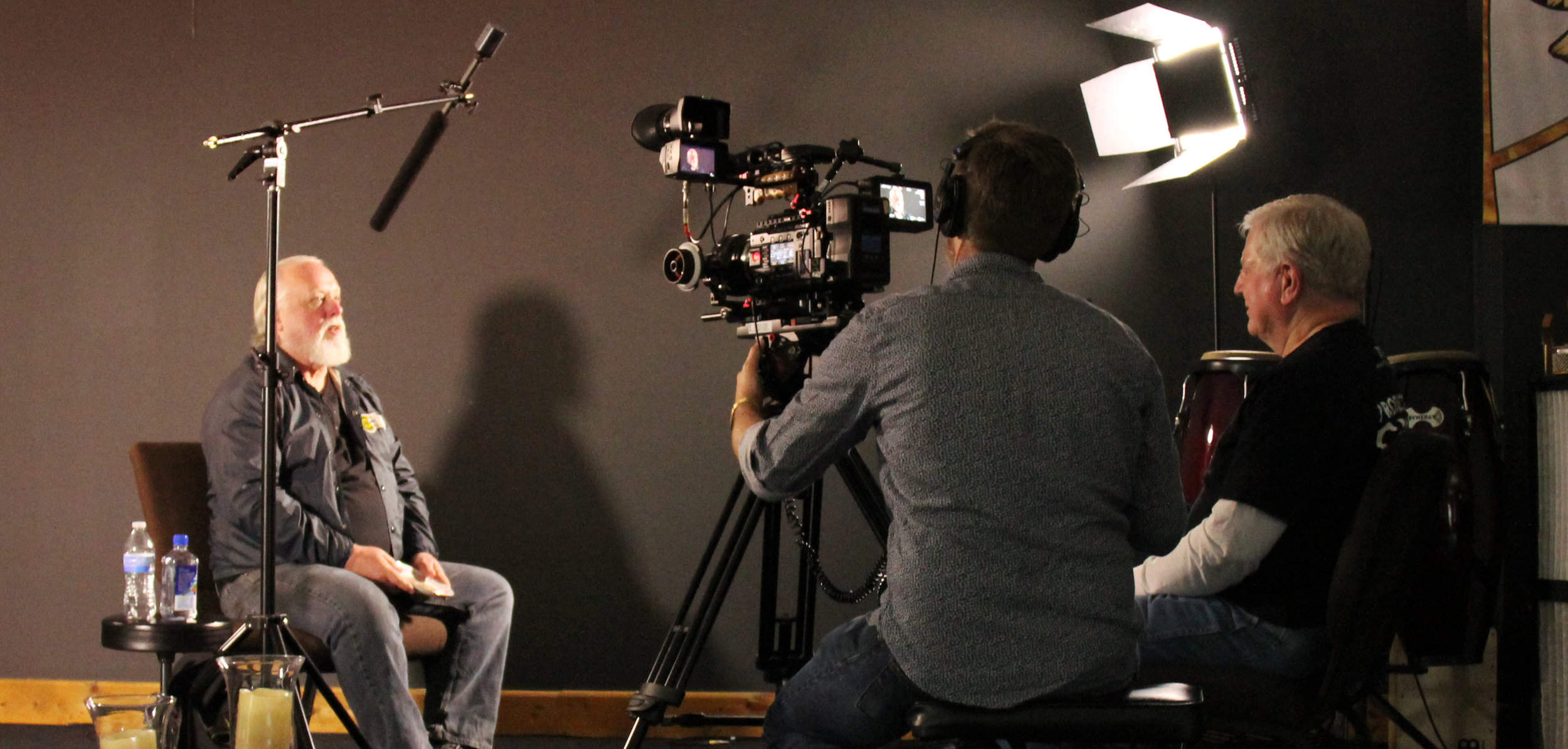 "Don Johnson, who put the final part on the last car from Norwood, is interviewed for ""Norwood: Where Legends Were Born"""