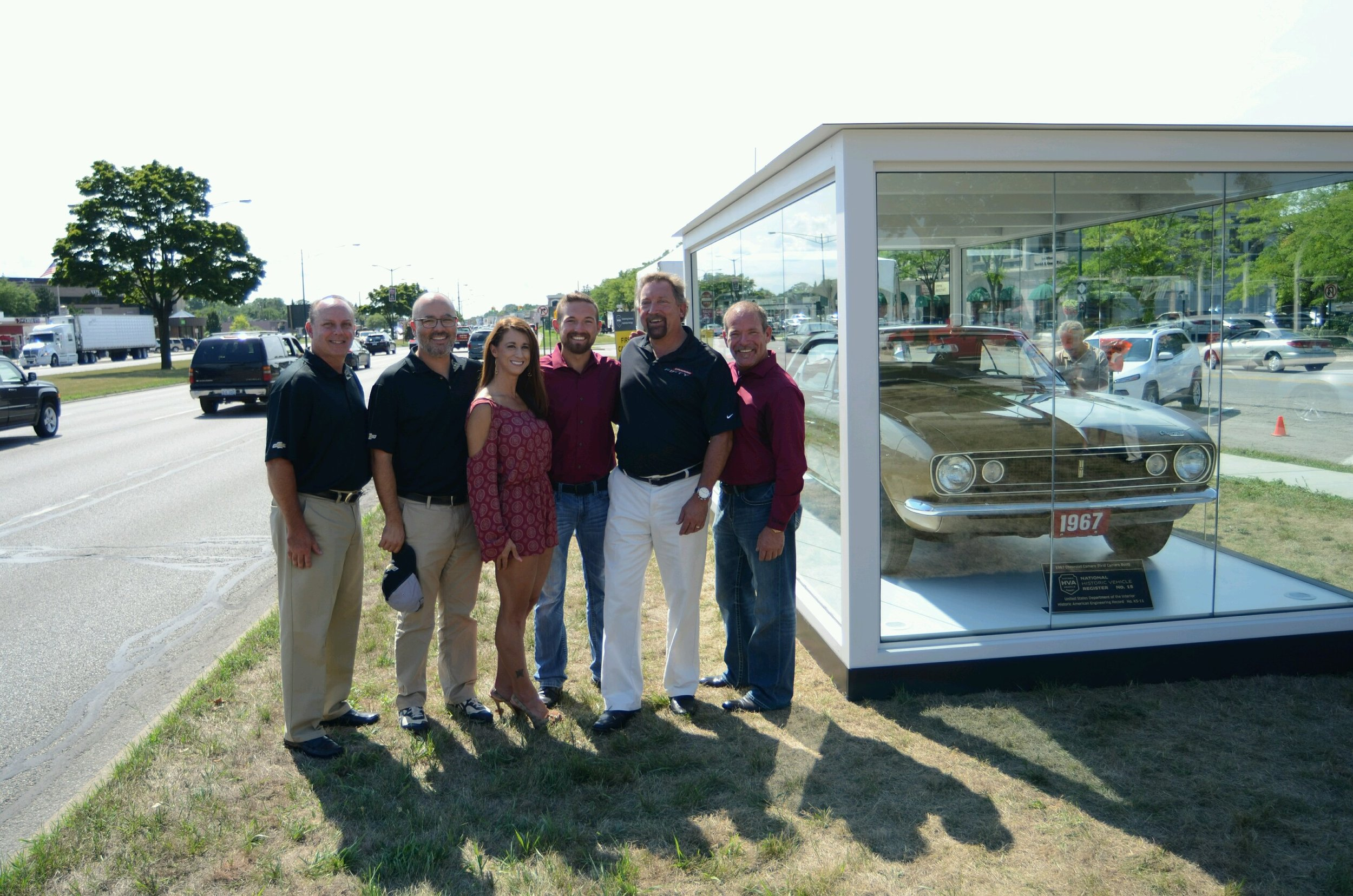 Pilot Car Registry Team and GM at the Woodward Dream Cruise