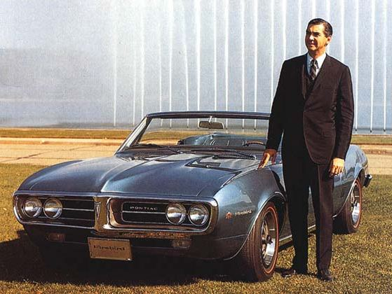 John DeLorean and the '67 Firebird