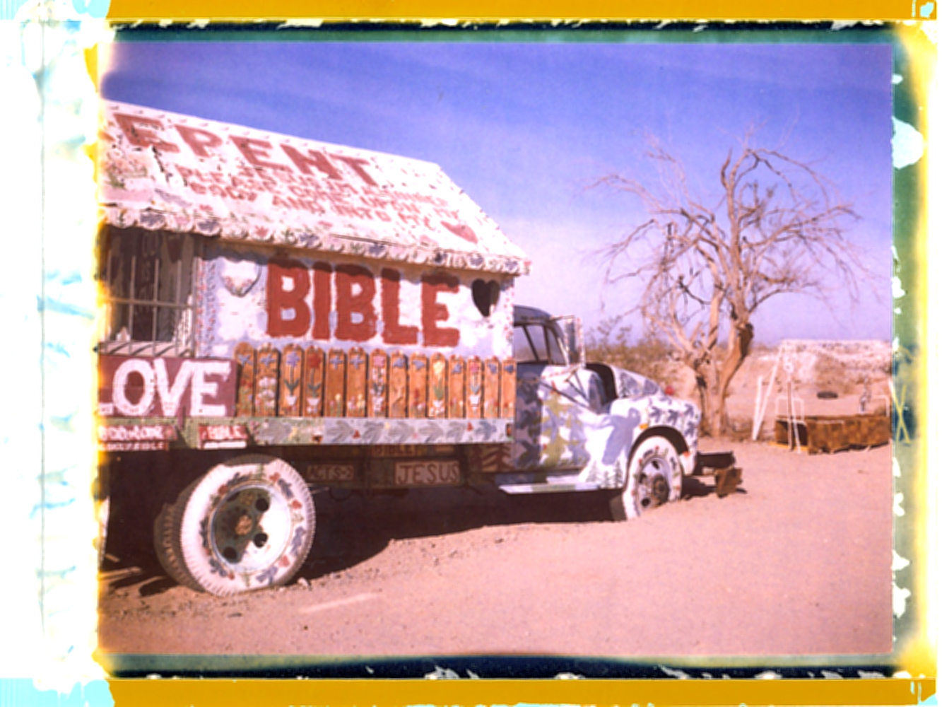 Salvation Mountain, Salton Sea
