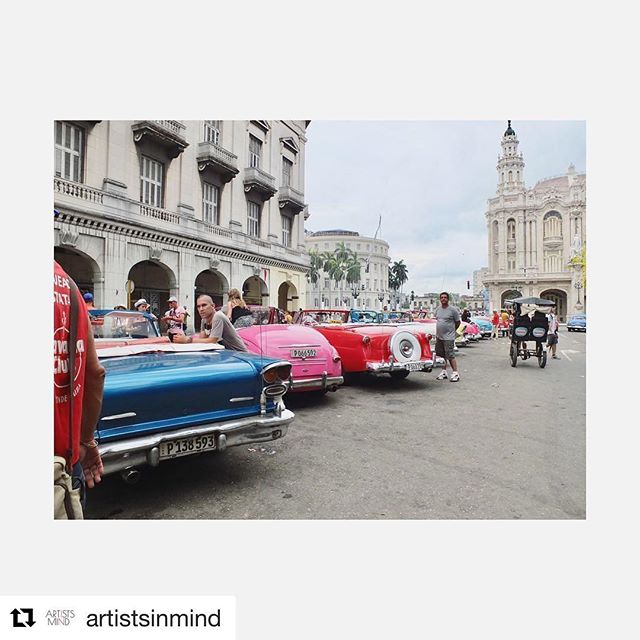 #Repost @artistsinmind (@get_repost) ・・・ Saturdaze in #Havana. Day dreaming and planning our upcoming show with @makewild hosted by @thomas_schoos in #Weho November 11-13th. We're bringing a Cuban experience to #LA. Stay tuned... #futuremovesslow #?? #artistsinmind