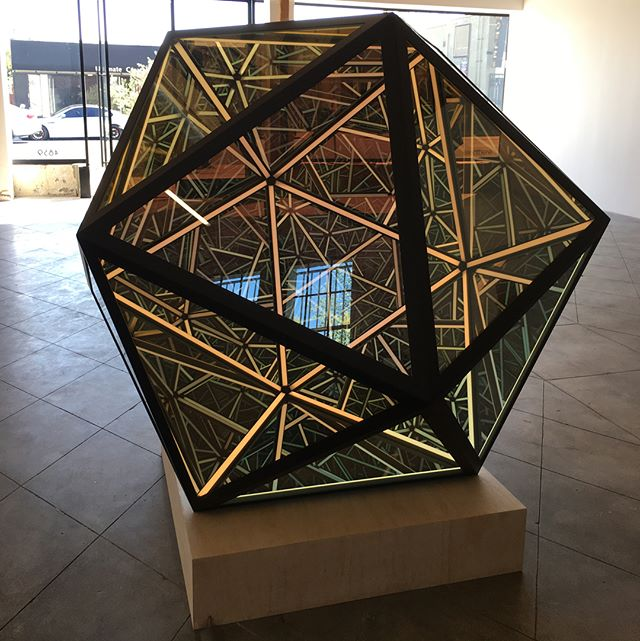 #MeetYourMoodLA at the there-there exhibition space at 4859 Fountain Avenue in East Hollywood ?? The work pictured is a project called #AbsoluteZero by artist Anthony James. To learn more about this newly opened gallery that supports many artists' dream projects, visit https://there-there.co/therethere-exhibitions/ or just click on the #LinkInProfile ??? @thereisnotherethere . . . . . . . . #Psychitecture #AnthonyJames #ThereThere #ThereThereGallery #newlyopened #dreamproject #EastHollywood #artinLA #artevents #artexhibition #artgallery #losangeles #kaleidoscopic #LauriFirstenberg #ThereisNotHereThere