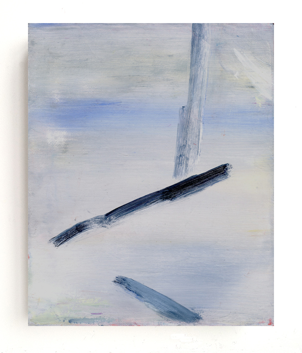 Untitled (winter), 2013, oil on canvas, 10 x 8 inches