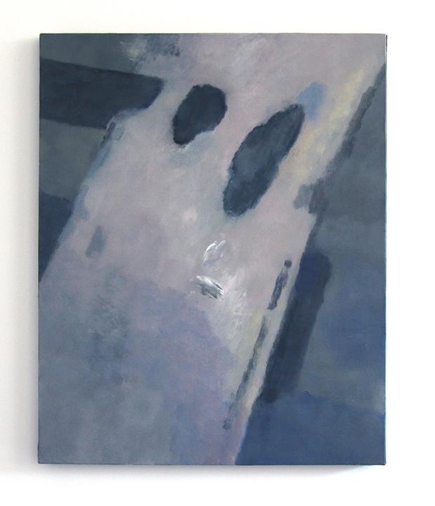 Untitled (shadow), 2014, oil on canvas, 40 x 32 inches