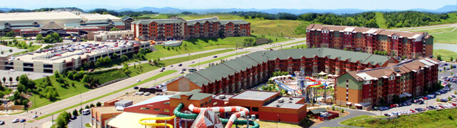Smack dab in the heart of the Smoky Mountains sits this MEGA water park and convention center. Services Provided: LV Design, Engineering and Installation. Fiber Optics, Copper and Coax inside/outside plant, Video distribution services, Bandwidth services, CCTV and P2P Internet Services.
