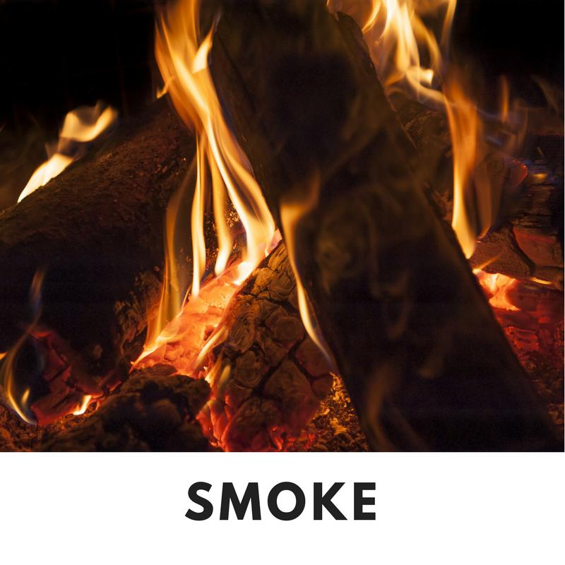 Wood Fire Smoke Fall Smells