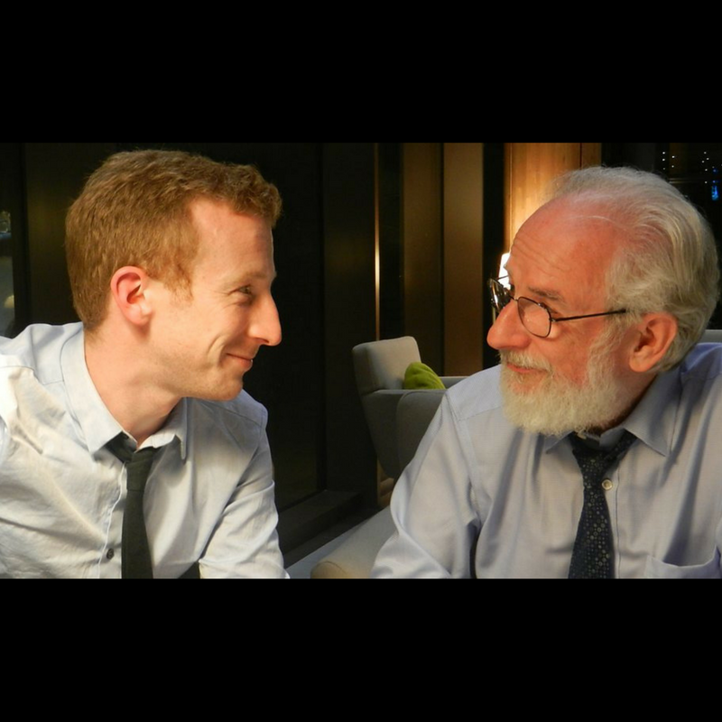 Adorable father-son Shakespeare nerds, Ben and David Crystal. Click through to see them in action.