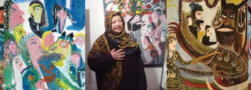 Mokarrameh Ghanbari (1928-2005) born Darikandeh, Iran