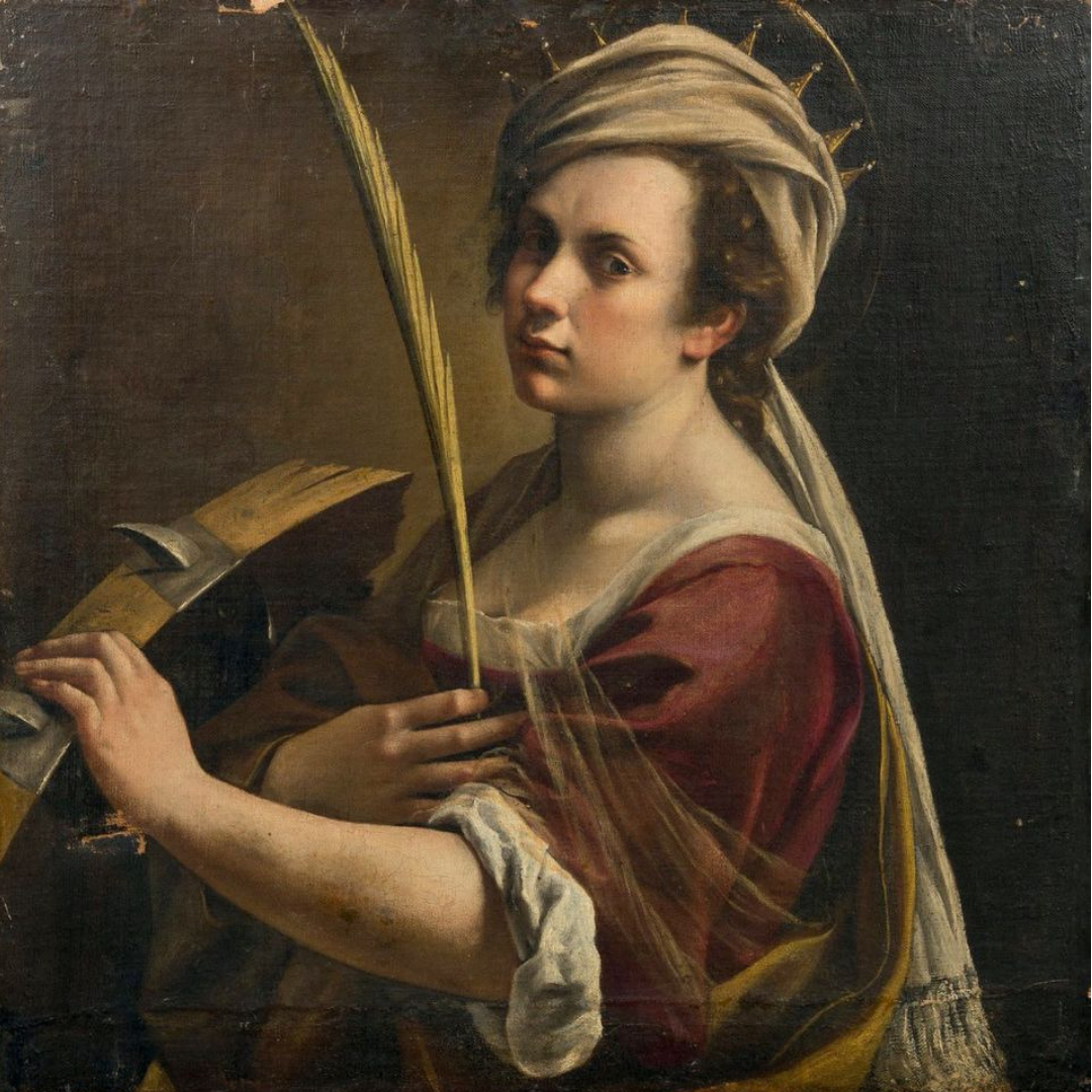 Artemisia Gentileschi - Nolite te Bastardes Carborundorum,