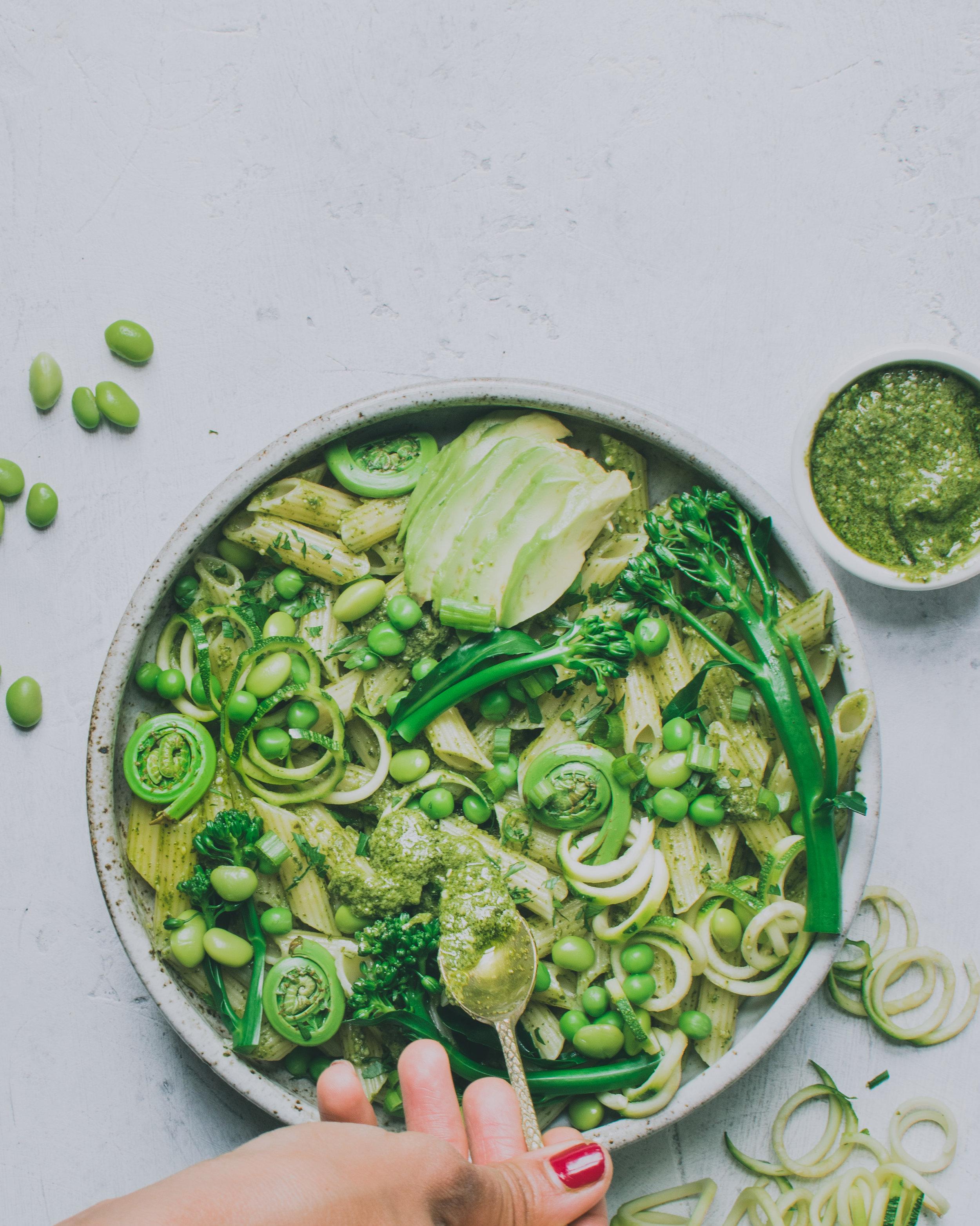 pesto pasta bowl spoon bohemian (1 of 1) (1).jpg