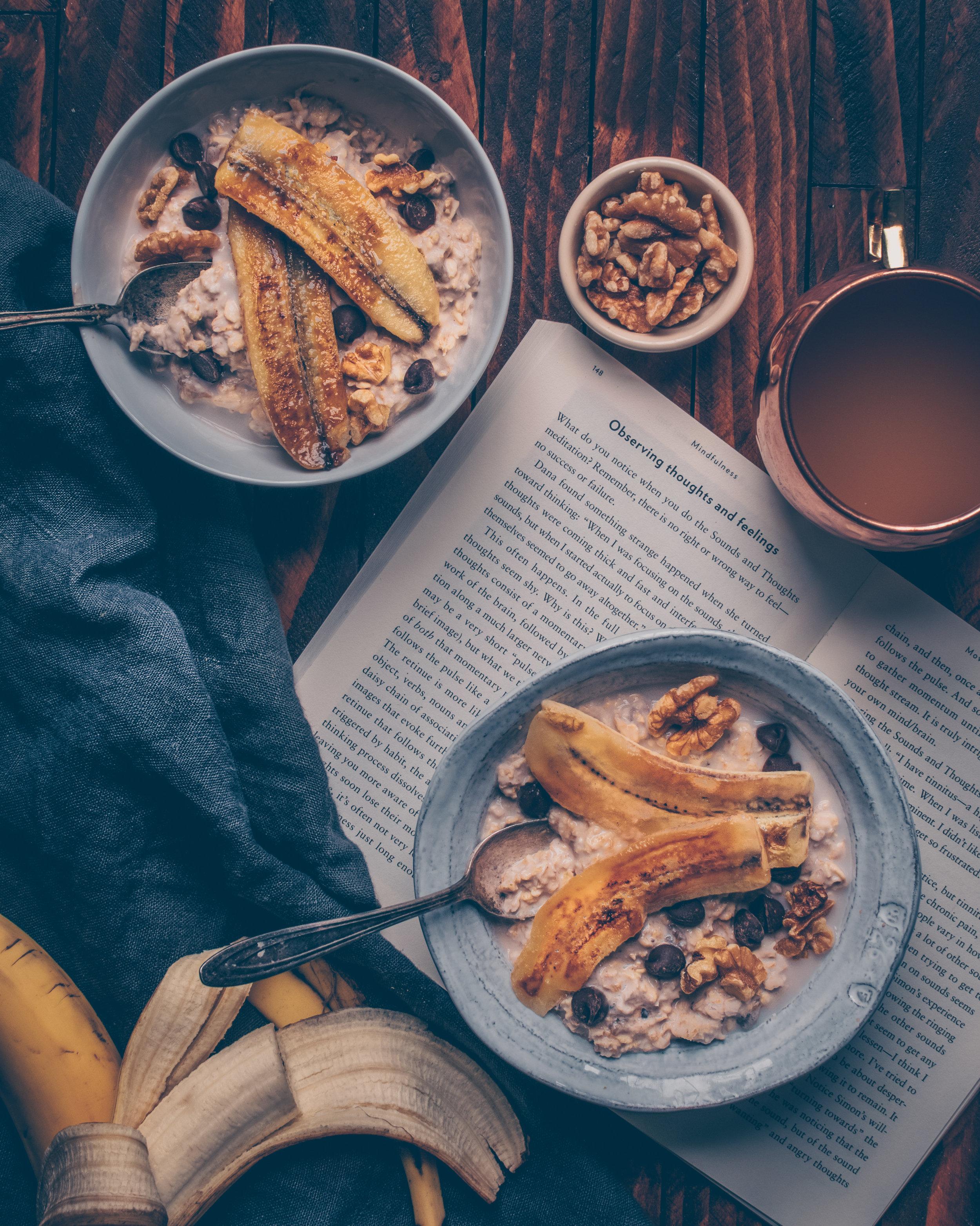 Banana Bread Oatmeal - Vegan, Gluten-Free
