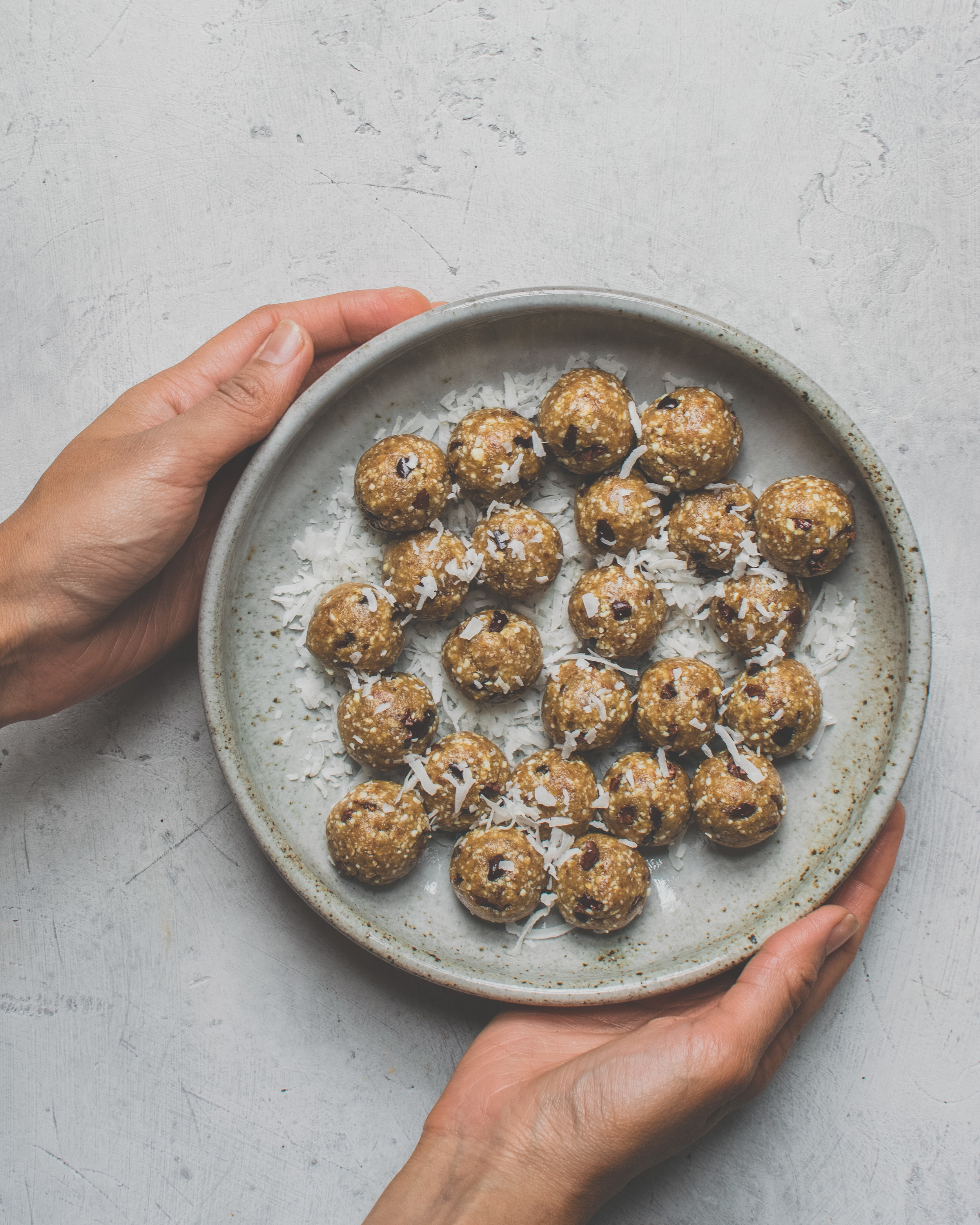 Salted Caramel Cookie Dough Bites* - Raw Vegan, Gluten-Free, Paleo