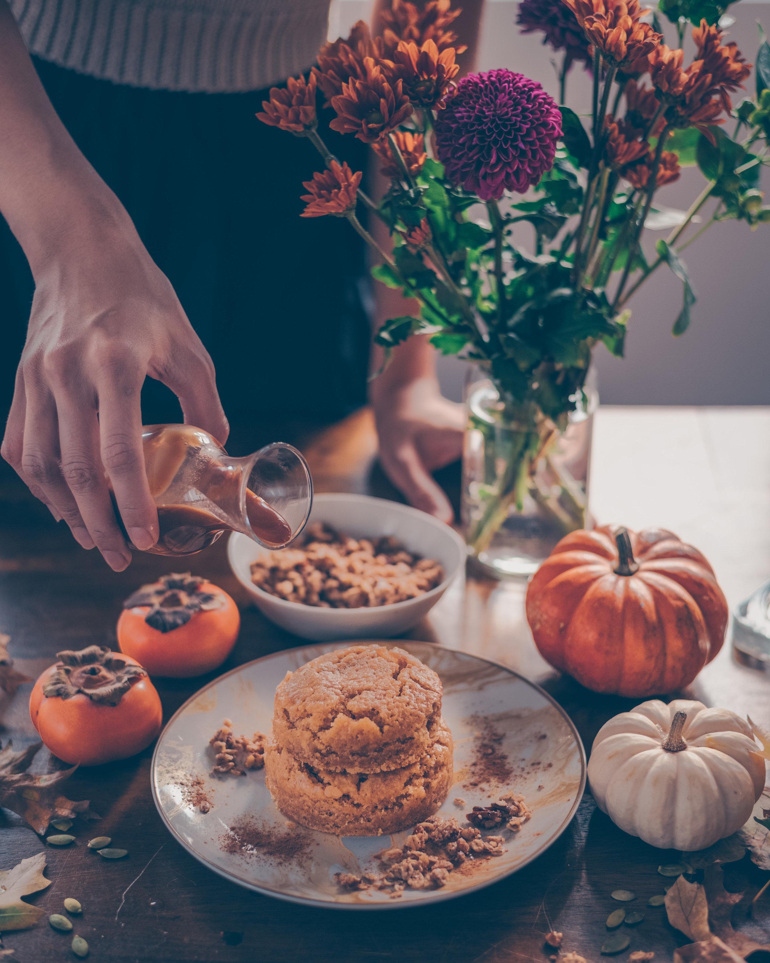 pumpkin cake about to pour caramel - edit.jpg