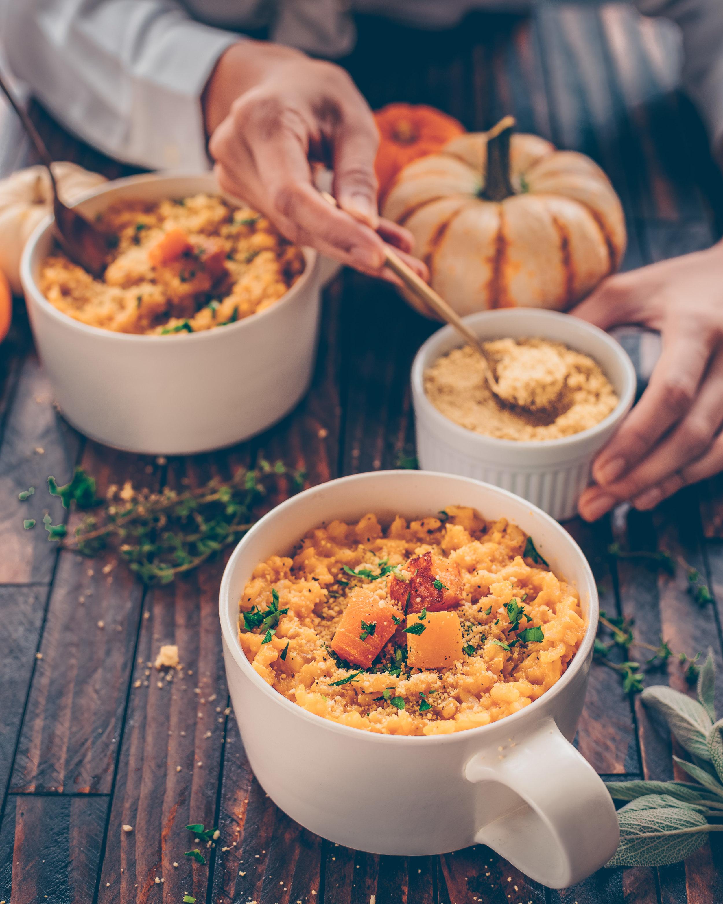 Cashew Parmesan Crumble - V, GF, P