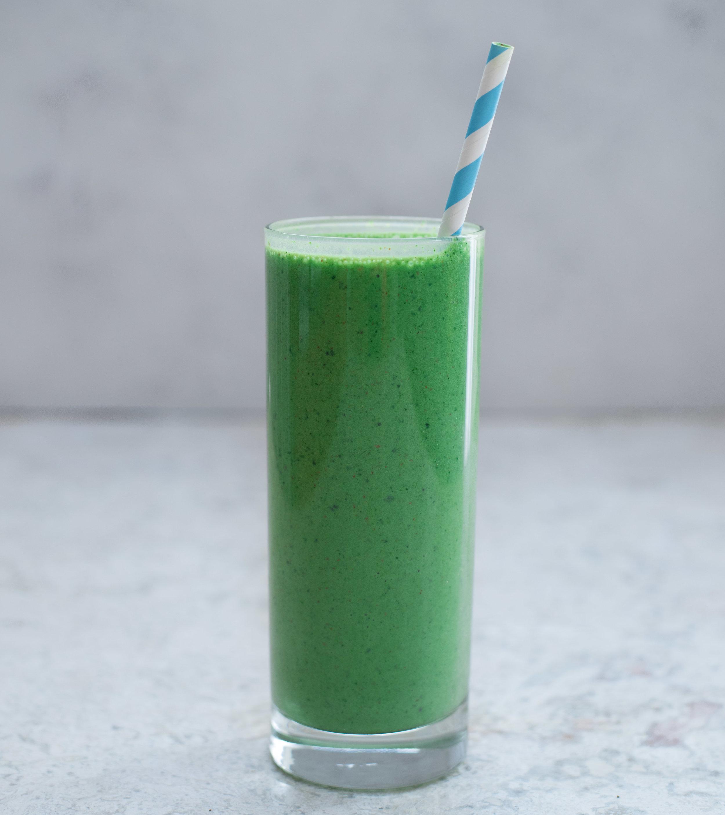 Mean Green Protein Smoothie - V, GF
