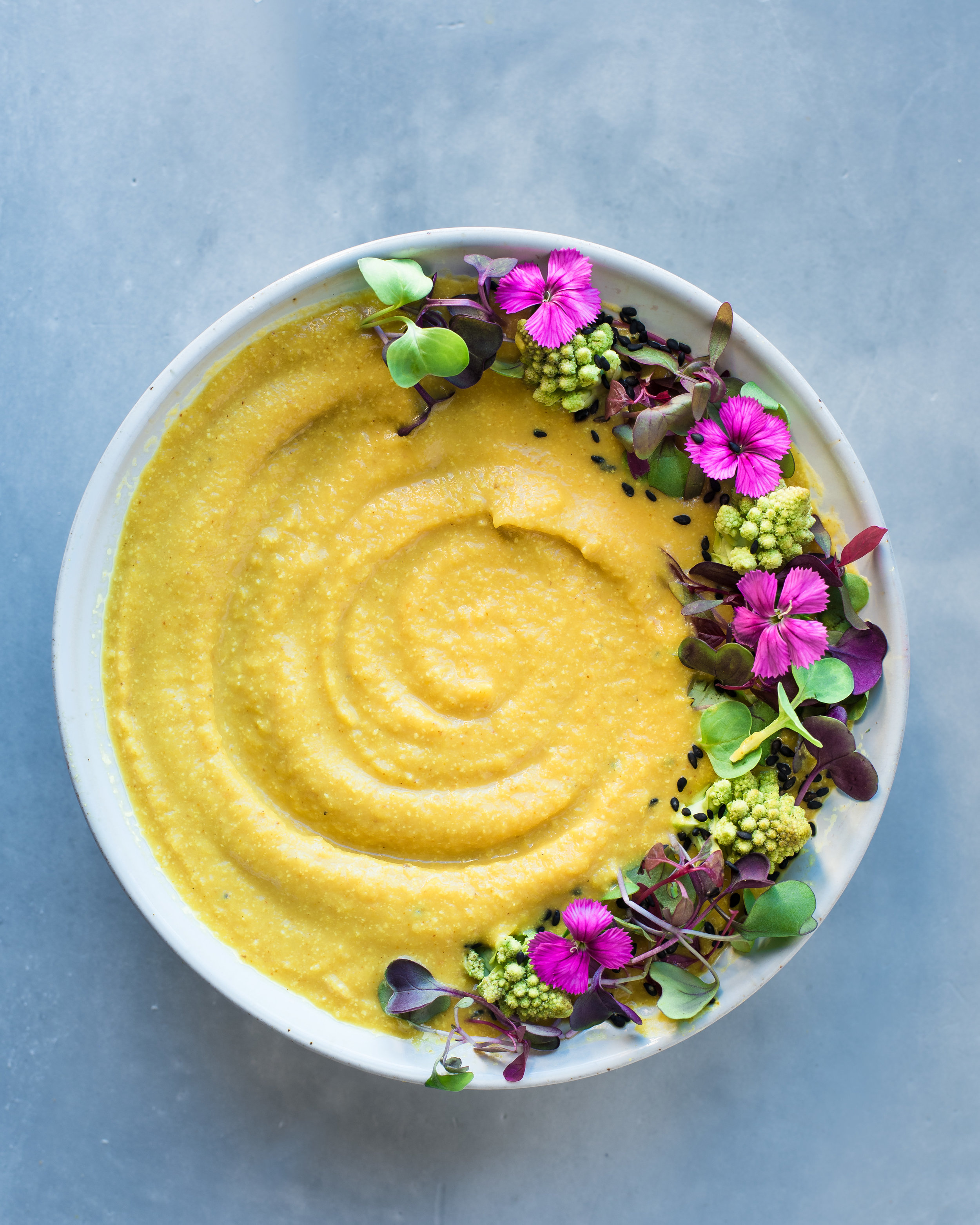 Cream of Cauliflower Soup - V, GF, P