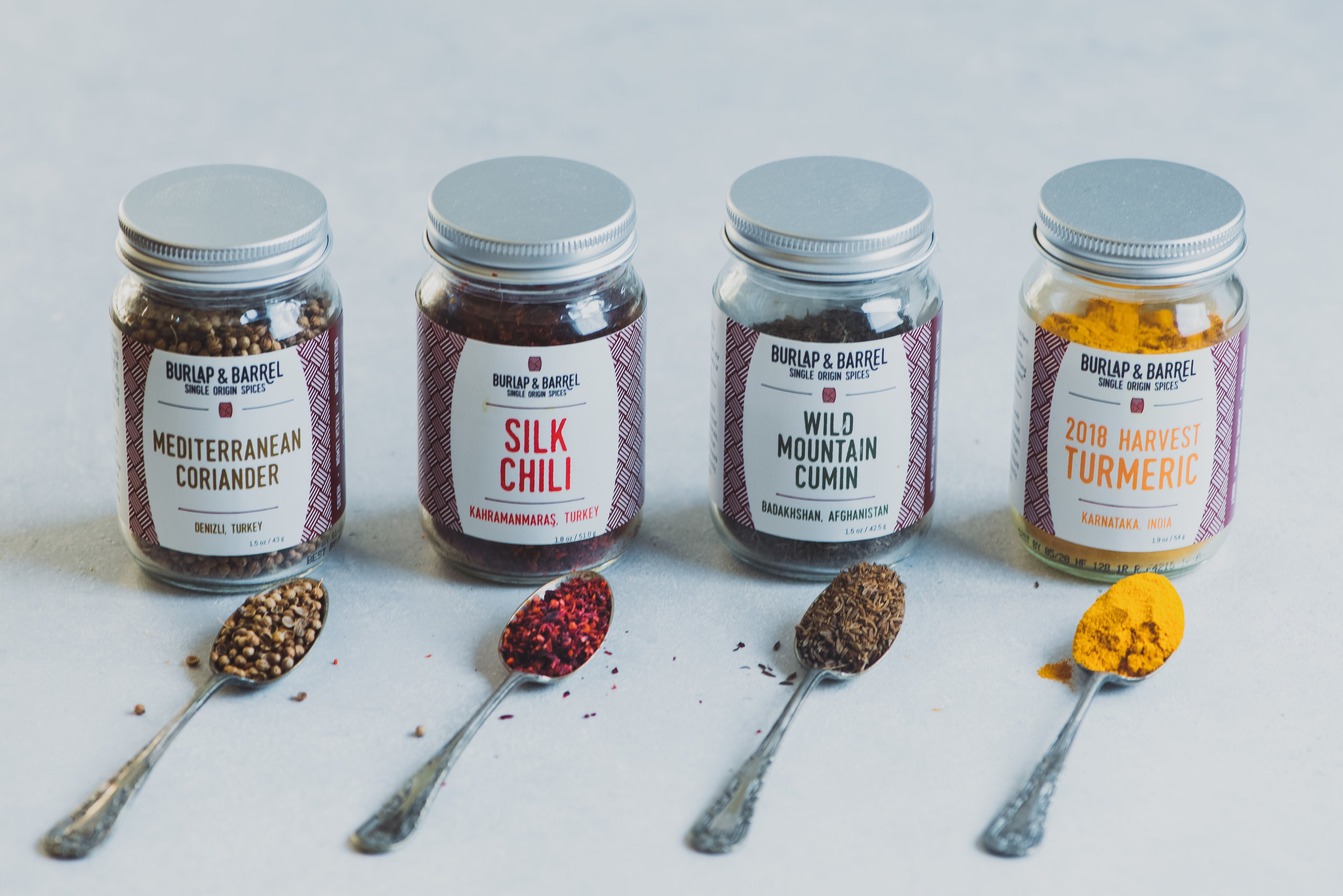 Burlap & Barrel Spice Set - Spices sourced directly from small farms and co-ops that promotes worker financial security and sustainability. Plus, these flavors are so much more potent than typical grocery store spices.Price: $21.99-$46.99 from burlapandbarrel.com